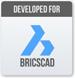 BricsCad logotipo