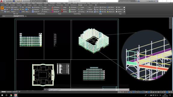 Pon Cad definición detalles y layout