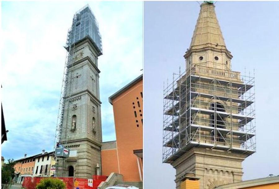 Pon Cad Andamio Restauración Torre Iglesia