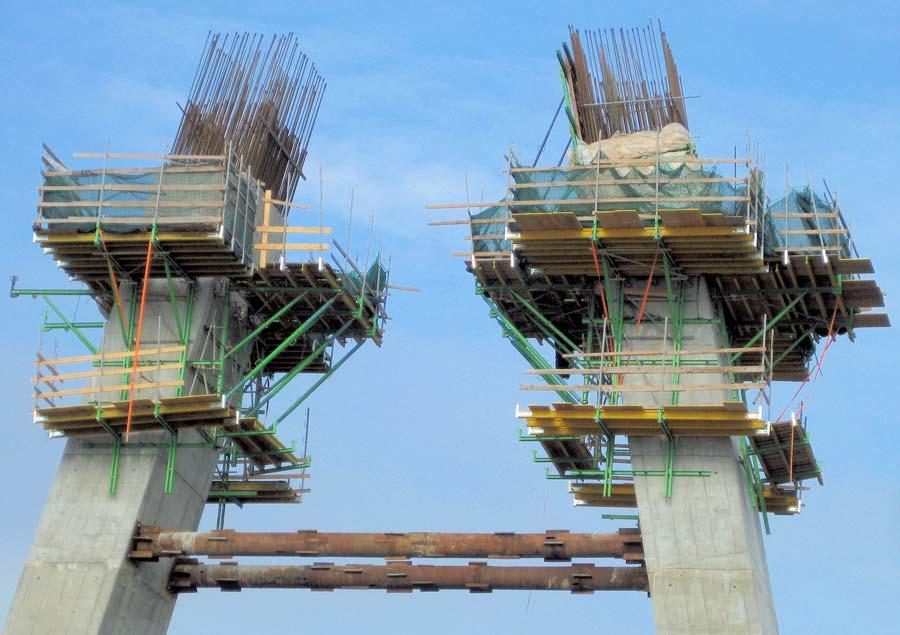 Encofrado para Viaducto ferroviario