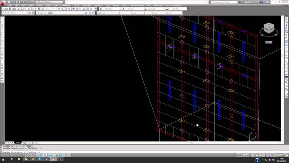 como crear pilares con For Cad