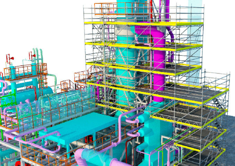 PON CAD software dwg mantenimiento industrial tubes & piping